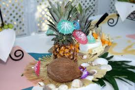 Luau Party Table Decorations Pineapple Decor Wood The Pineapple Decor U2013 The Latest Home Decor
