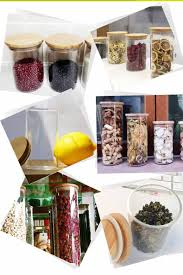 glass kitchen canisters china different types glass kitchen jars supplier