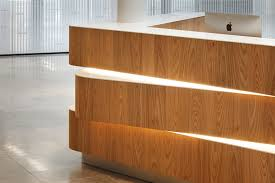 Plywood Reception Desk The Charter Building Reception Desk Dn A Architects