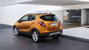 opel gold opel mokka x shown in paris headed for mzanzi