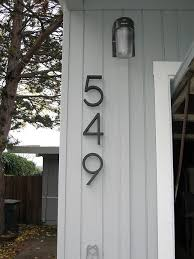 house number light box 25 best mid century modern exterior house colors images on pinterest