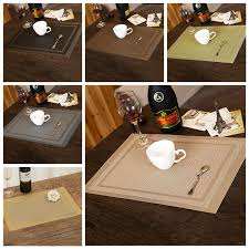 dining room placemats waterproof fabric table placemats kiechen dining room decors pad