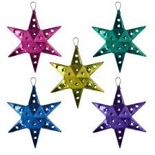 36 best star ornaments images on pinterest mexican christmas