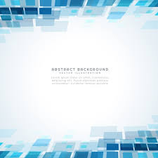 blue square mosiac background vector free