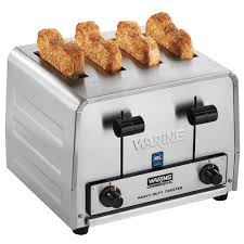 Catering Toasters Waring Wct805b Heavy Duty 4 Slice Toaster 208v