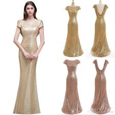 sparkly rose gold 2017 cheap mermaid bridesmaid dresses short
