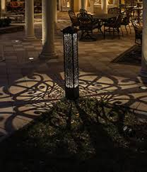 article decorative bollards take landscape lighting to the next