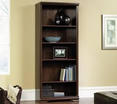 Sauder Harbor Bookcase by Sauder Furniture Carolina Estate 5 Shelf Adjustable Bookcase