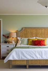 benjamin moore louisburg green bedroom tropical with woven