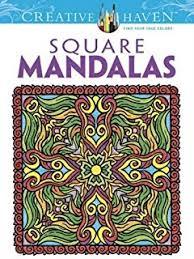 mystical mandala coloring book dover design coloring books