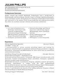radiologic technologist resume skills mammography resume mammography resume recommendations on breast
