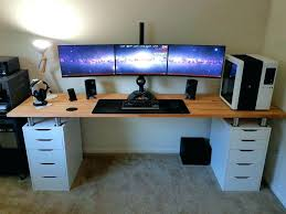 Corner Pc Desk Ikea Pc Desk White Pc Desk Image Of Computer Desk Ideas White