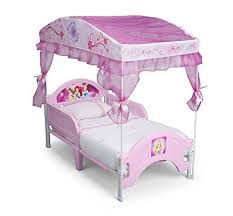 Toddler Bed With Canopy Bb87186ps Delta Children Canopy Toddler Bed Disney Princess