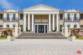 neoclassical style homes 14 5 million neo classical style newly built mansion in malibu