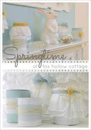 Easter Mantel Decorating Ideas by Simple Easter Craft And Decorating Ideas Fox Hollow Cottage