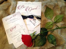 beauty and the beast wedding invitations beauty and the beast wedding invitations 8738 plus like this item