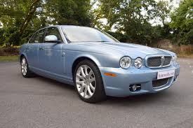 2007 07 jaguar xj 3 0 sovereign petrol finished in ice blue