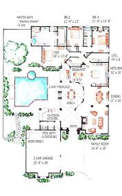 home plans with pool 28 images pool house pool house