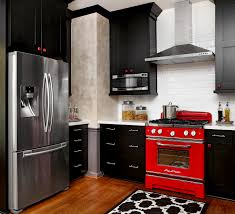 black bottom and white top kitchen cabinets 11 small kitchen color ideas for a big boost of style
