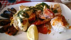 cuisine langouste plancha langouste à la plancha photo de le provencal sanary sur mer