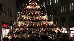 singing christmas tree singing christmas tree in zürich