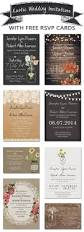 Wedding Invitations With Rsvp Cards Included 223 Best Wedding Invitations Images On Pinterest Invitation