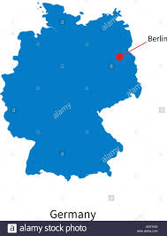 Map Of Berlin Germany by Detailed Vector Map Of Germany And Capital City Berlin Stock