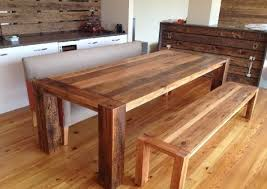 Ideal Kitchen Tables With Bench Seating  Special Kitchen Tables - Bench tables for kitchen