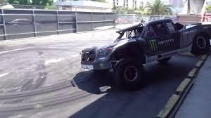 baja truck for sale watch bj baldwin bring his 800 hp trophy truck to hoonigan u0027s donut