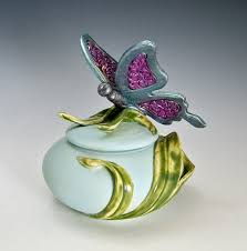 jewelry for ashes of loved one handmade butterfly urn for cremation ashes of loved one by bonnie