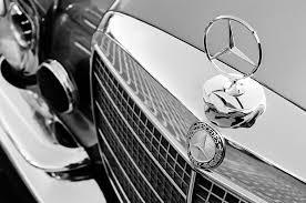 1971 mercedes 280se 3 5 cabriolet ornament grille