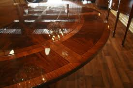 dining room how useful are expandable round dining table