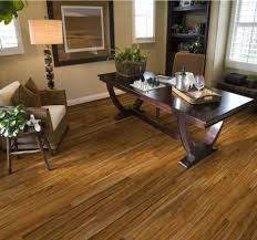 peru wooden allure vinyl plank flooring matched with tan wall with