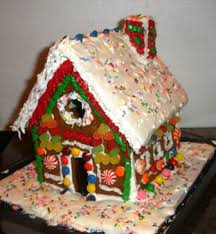 how to make a real edible gingerbread house