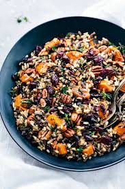 cranberry pecan sweet potato rice pilaf the recipe critic