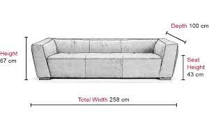 adante large 3 seater sofa vavicci fine home furniture