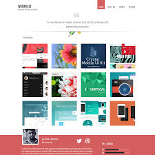 resume website template portfolio template free jcmanagement co