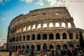 orari ingresso colosseo fond d 礬cran italie b磚timent ciel tourisme soir