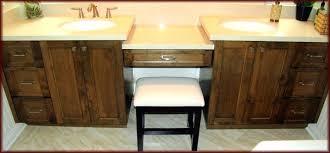 Built In Bathroom Cabinets Custom Built Bathroom Vanity Vanities Made Voicesofimani