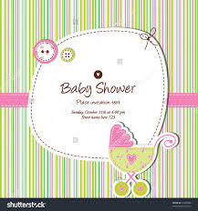 Babyshower Invitation Card Stunning Unique Baby Shower Invitation Cards 57 On Birthday