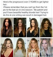 progression to blonde hairstyles pinterest dark hair and blondes