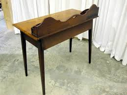 Small Walnut Desk Antique Small Walnut Writing Desk W Paper Slots For Sale