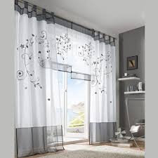 Grey Faux Suede Curtains 2016 Tulle Green Grey Purple Blackout Embroidery Curtains For