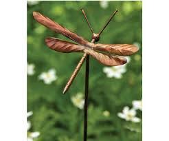 graffiti dragonfly garden ornament