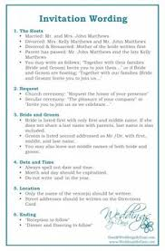 wedding invitation wording best wedding planning advice from the pros addressing wedding