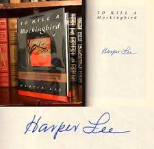 To Kill A Mockingbird Barnes And Noble Harper Lee Signed Books Ebay