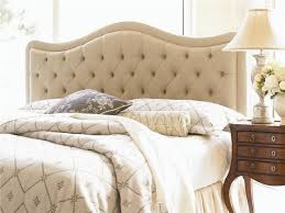 Wingback Headboard King by Amazing Of Upholstered King Headboard Cream Fabric Tufted