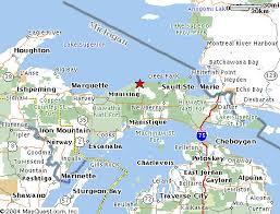 up michigan map michigan map my