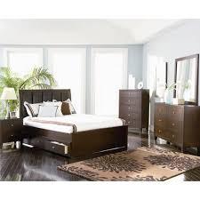 Loretta Queen 4pc Contemporary Platform Storage Bedroom   loretta queen 4pc contemporary platform storage bedroom set