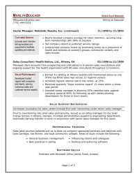 Sample Resume Business by Example Management Resume